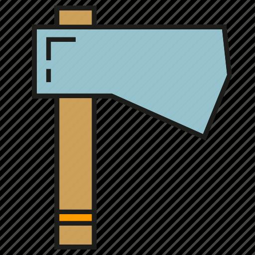 ax, axe, cleaver, logger, lumberjack icon