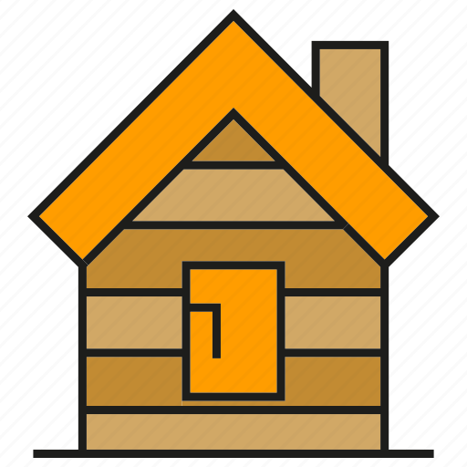 cabin, cottage, home, house, hut, lodge, shack icon