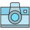 camera, device, electronic, gadget, lens icon