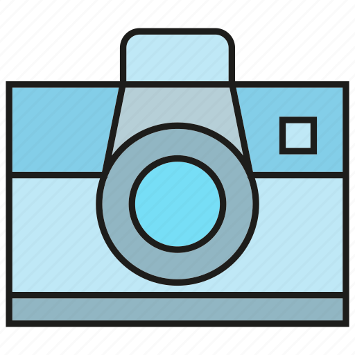 Camera, device, electronic, gadget, lens icon - Download on Iconfinder