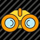 equipment, binocular, tool, spyglass