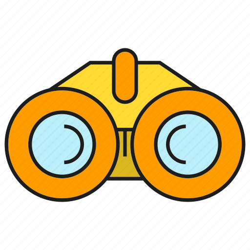 Binocular, equipment, spyglass, tool icon - Download on Iconfinder