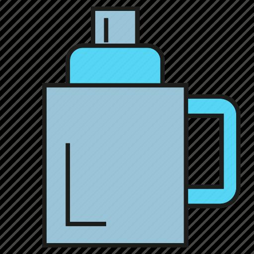 Cormorant, pot, kettle, water, water crow, teakettle icon