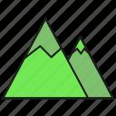 height, hill, mount, mountain