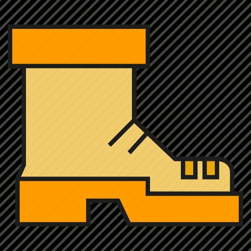 boot, shoe, wear icon