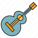 guitar, instrument, music, song, sound icon