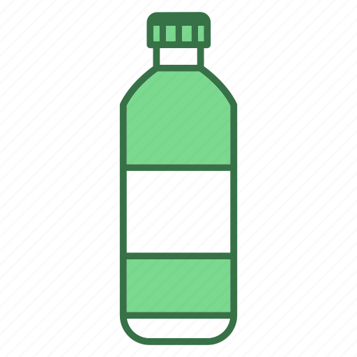 bottle, camping, water icon