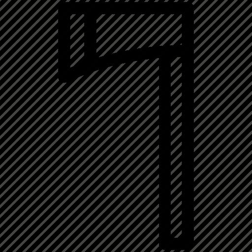 ax, tool, vikings, weapon icon