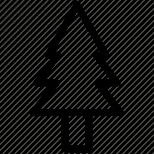 christmas, green, plant, tree icon