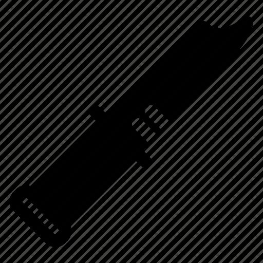 blade, knife, lock, tool icon