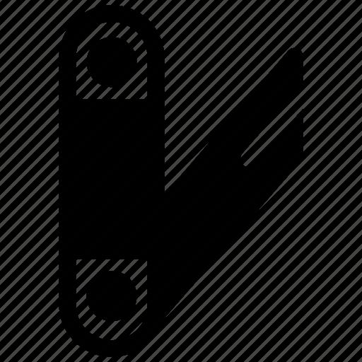 blade, cut, fold, knife icon