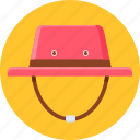 cap, hat, holiday, riding, safety, travel, vacation icon