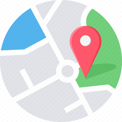 direction, gps, location, map, navigation, pointer icon