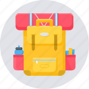 bag, baggage, luggage, suitcase, tourism, travel icon