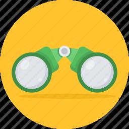 binocular, binoculars, explore, find, search, spyglasses, zoom icon