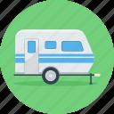 bus, transport, van, vehicle, park, parking, travel