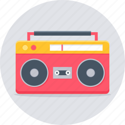 audio, music, song, sound, system, taperecorder icon