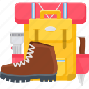 accessories, activity, adventure, camping, holiday, vacation icon