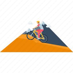 activity, bicycle, cycling, images, outdoor, scenery icon