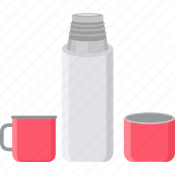 bottle, cup, drink, drinking, mug, picnic, water icon