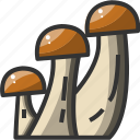diet, food, health, healthy, mushroom, restaurant, vegetable icon