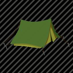 adventure, cartoon, house, outdoor, tent, tourism, travel icon