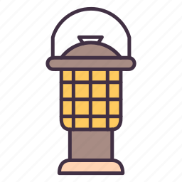 camp, camping, lamp, light, oil, outdoor, tool icon