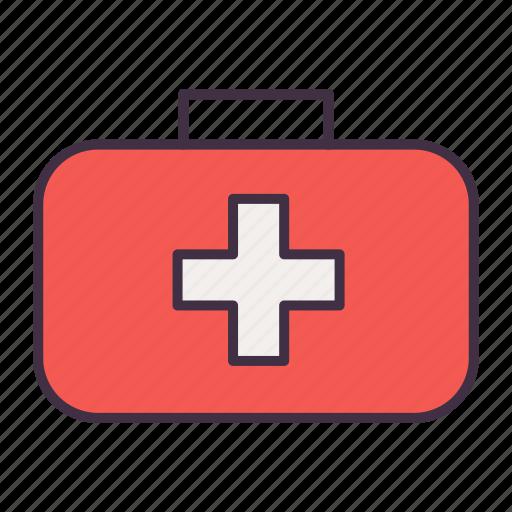 bag, camping, medcine, medical, medicine, tool icon