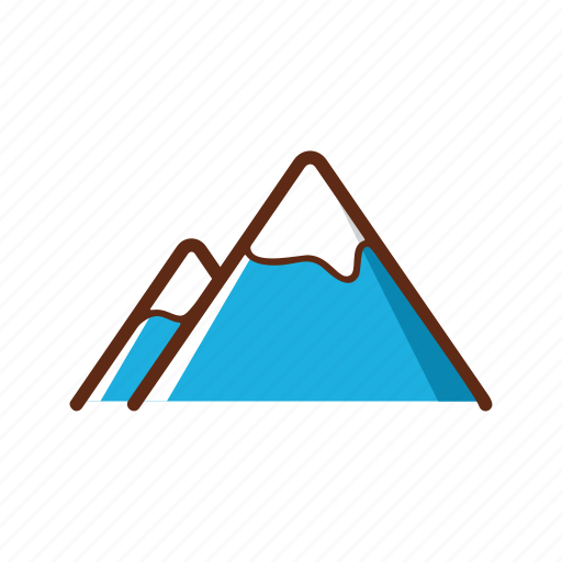 camping, hiking, hill, mountain, outbound, tent, travel icon