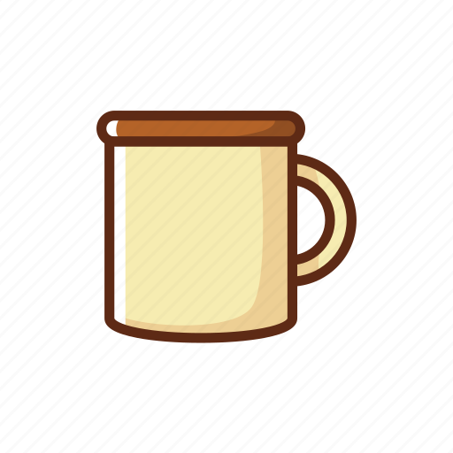 camping, coffee, drink, hot, mug, tea, water icon
