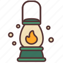 camp, camping, lamp, lantern, light, night, outdoor icon