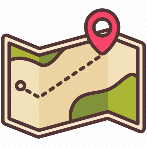 Camp, direction, gps, map, navigation, outdoor, travel icon - Download on Iconfinder