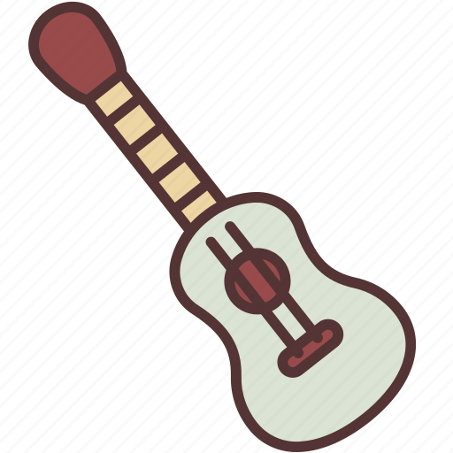 camping, guitar, hobby, recreation, sing, song, ukulele icon