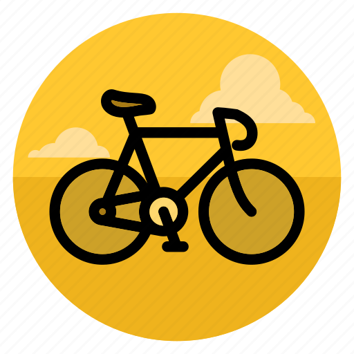 bicycle, bike, cycle, cycling, fitness, ride, sport icon