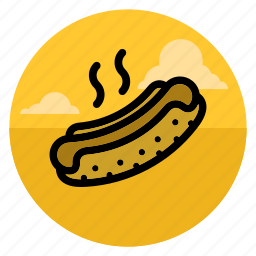 burger, eat, fast food, fastfood, food, hot dog, hotdog icon