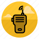 call, communication, phone, radio, speak, talk, walkie talkie icon