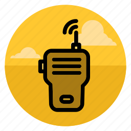 call, communication, phone, radio, speak, talk, walkie talkie icon