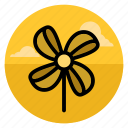 fan, paperspin, pinwheel, rollingpin, toy, twirl, wind icon