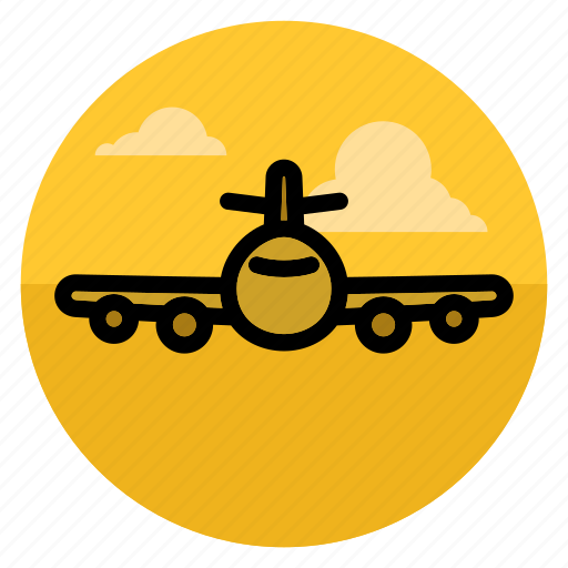 aircraft, airplane, fly, flying, plane, travel, vacation icon