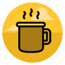 beverage, breakfast, coffee, cup, drink, mug, tea icon