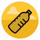 beverage, bottle, drink, drinks, food, plastic, water icon