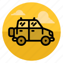 automobile, car, jeep, journey, safari, transport, travel icon