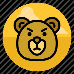 animal, bear, grizzly, pet, polar bear, teddy, wild icon