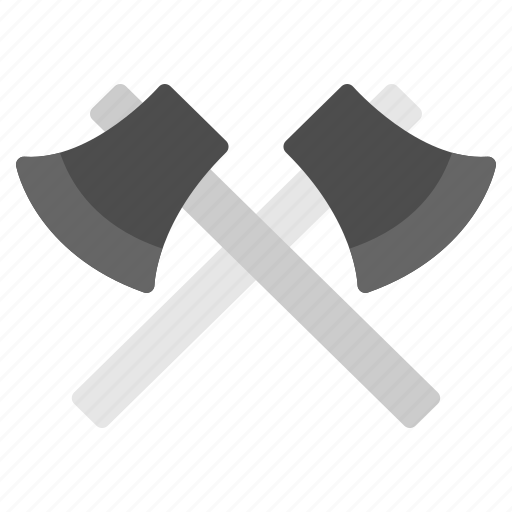 axe, camping, chop, tool, weapon icon