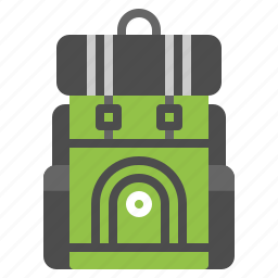 adventure, backpack, bag, luggage, travel icon