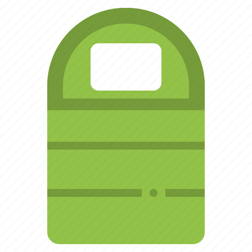 bed, camping, equipment, picnic, sleep icon