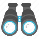 binocular, equipment, lens, spyglass, telescope icon