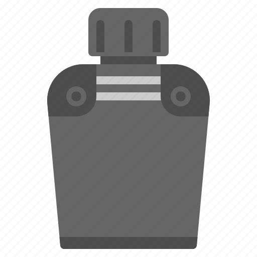bottle, drink, pocket, thermos, water icon