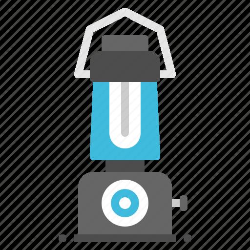 camping, equipment, lantern, light, tool icon
