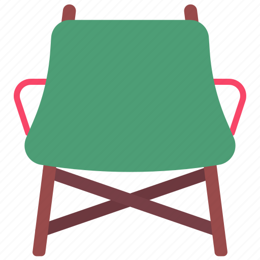 Camp, camping, chair, fishing, folding, sitting icon - Download on Iconfinder